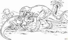 Ausmalbilder Dinosaurier Ankylosaurus Ausmalbild Gorgosaurus Gegen Monoclonius Ausmalbilder