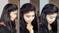 Hair Style Front Side how to make side puff hairstyle 1 minute side puff