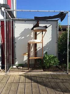 katzengehege selber bauen katzengehege terrasse diy katzengehege katzen und terrasse