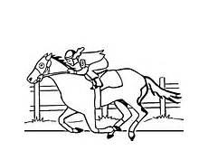 ausmalbilder pferde hindernis x13 ein bild zeichnen