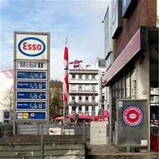 Esso Station Reeperbahn Closed Car Wash St Pauli
