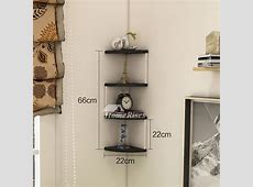 Corner Wall Shelf Wooden Decorative Creative Living Room