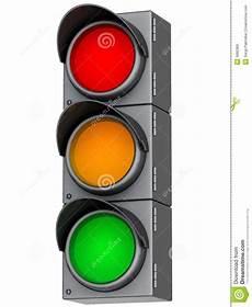 3d Traffic Lights Stock Illustration Illustration Of