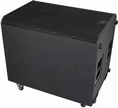 pa powered subwoofers peavey rbn 215 sub powered pa subwoofer 2000 watts 2x15 quot