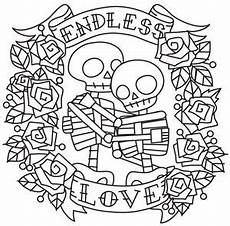 endless love skeletons urban threads unique and awesome embroidery designs to craft