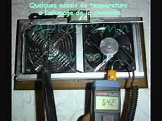 Insert Avec Soufflerie Air Chaud Montage D Un Extracteur Sur Ma Cheminee Avec