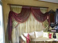 les caches rideaux deux cache rideaux pour le salons marocain moderne 2013
