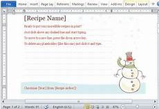 recipe card templates avery 8386 recipe cards maker templates for word 2013