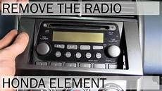 honda element speaker wiring honda element radio removal