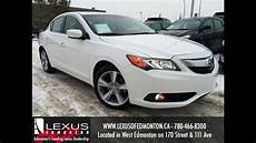 used white 2013 acura ilx premium pkg review fort mcmurray alberta youtube
