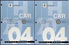 2004 buick lesabre repair shop manual original 2 volume set 2004 buick lesabre repair shop manual original 2 volume set