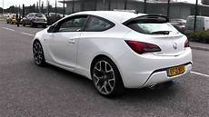 opel astra gtc sport 2013 vauxhall astra gtc sport 1 4l ef13nxv olympic white at toomeys southend