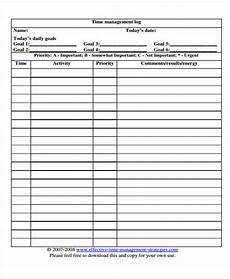 free 22 time log templates in pdf