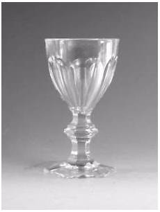 bicchieri di baccarat cristallo baccarat vintage harcourt design sherry