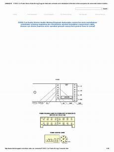 86 ford truck radio wiring harness diagram ford car radio stereo audio wiring diagram autoradio connector wire installation schematic