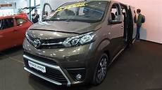 toyota proace verso family 2017 brown colour