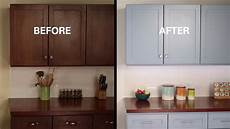 refinish kitchen cabinet kilz 174 how to refinish kitchen cabinets youtube