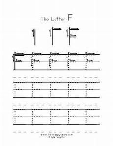 letter f tracing worksheets for preschool 23592 practice worksheet for writing the letter d with several connect the dots exles