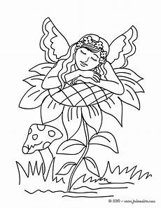 sleeping fairies coloring pages 16601 coloriages fee 224 imprimer fr hellokids