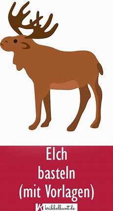 Kostenlose Malvorlagen Elch Elch Vorlage In 2020 Mit Bildern Elche Basteln