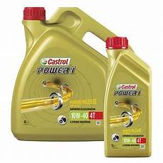 castrol power1 4t motoren 246 l 10w 40 hc synthese kaufen