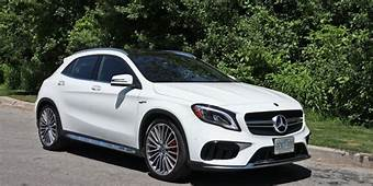 SUV Review 2018 Mercedes AMG GLA 45  Driving