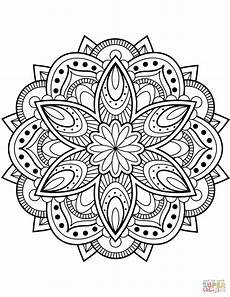 mandala flower coloring pages difficult 17895 flower mandala coloring page free printable coloring pages mandala coloring pages printable