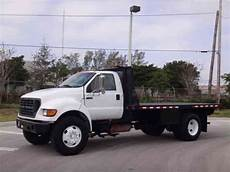 Ford F750 Duty 16ft Flatbed 2000 Heavy Duty Trucks