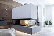 kamin bilder modern moderner heizkamin raumteiler m design 3 seiten glas