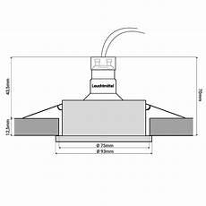 Rf 2 Led Einbaustrahler Schwenkbar In Matt Wei 223 Rund Inkl