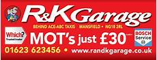 r k garage r k garage advertise on our rear windows ace abc taxis