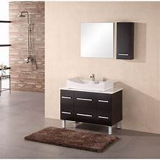design element designer s pick 36 quot bathroom vanity espresso free shipping modern bathroom