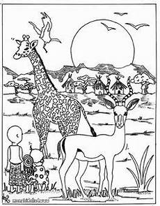 Ausmalbilder Tiere Afrika Ausmalbilder Afrikanische Tiere Animals For Africa
