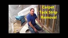 how to remove carpet tack from concrete