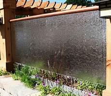 30 creative outdoor backyard water walls 10