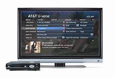 television u review of the at t u verse total home dvr cabletv