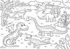 Dinosaurier Malvorlagen Quotes Illustration Der S 252 223 E Dinosaurier Zum Ausmalen
