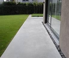 Terrasse Aus Beton - beton einfahrt hof tuin idee 235 n tuin en beton tuin