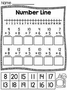 first grade math unit 4 addition to 20 anything and