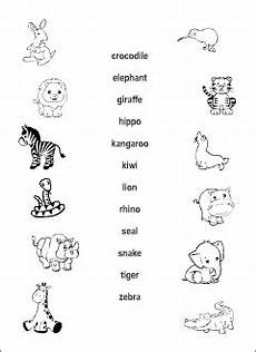 animals worksheets for primary 13865 animals vocabulary for learning matching