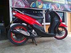 Modifikasi Mio Sporty Simple by Ayie Lily Modifikasi Mio Sporty Terbaru Sungai Pakning