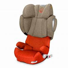 cybex solution q2 fix in autumn gold plus baby car seats