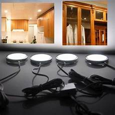 Kitchen Cabinet Light Bulbs by 4pcs Home Kitchen Led Cabinet Light Cupbord L