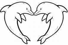 ausmalbilder delfine delphinzeichnung zeichnungen