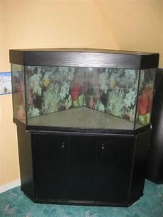 meuble d angle pour aquarium aquarium d angle 200l meuble noir 2 porte vente de