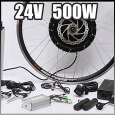 e bike 24 v 500 watt motor mit scheibenbremsen hub