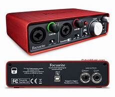 focusrite 2i2 focusrite premiers 2i2 audio interface futuremusic the news on future