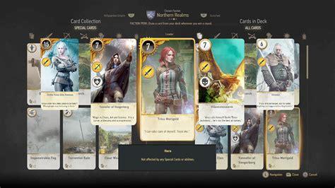 Geralt Gwent Card