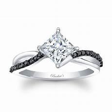 barkev s princess cut black diamond engagement ring 8076lbk barkev s