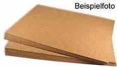 Basteln Mit Korkplatten - kork platten 2mm 45 x 30cm 10 st 252 ck g 252 nstig kaufen